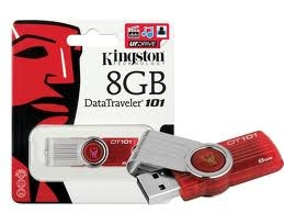 pen drive 8gb kingston dt101