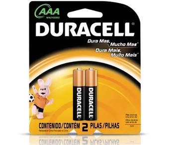 pilha duracell pequena aaa palito